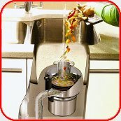 Картинка. Установка измельчителя пищевых отходов в квартире, коттедже или офисе в Владимире